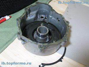 Bajaj Boxer изготовление прокладки левой крышки двигателя. Шаг 2.