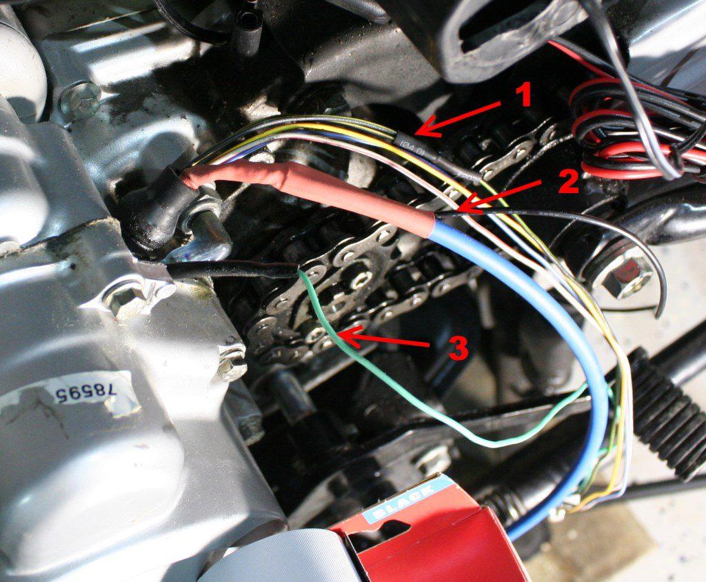 Проводка генератора