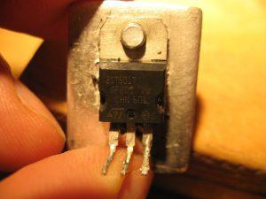 Bajaj Boxer, Транзистор повышающего питания CDI 2ST501T