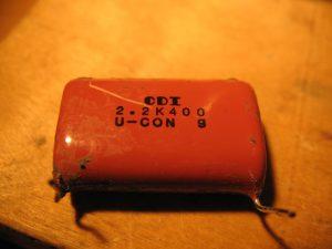 Bajaj Boxer, конденсатор CDI 2,2 мкФ 400 В