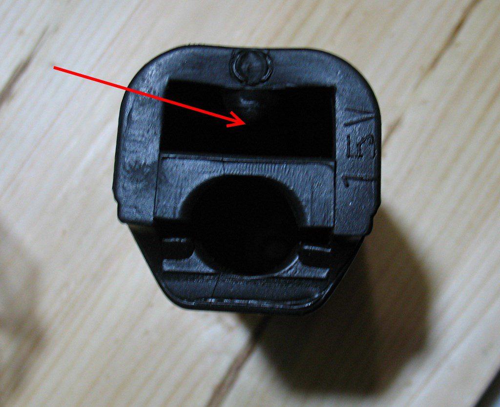 Резинка подножки водителя BAJAJ Boxer 150, артикул DF161413