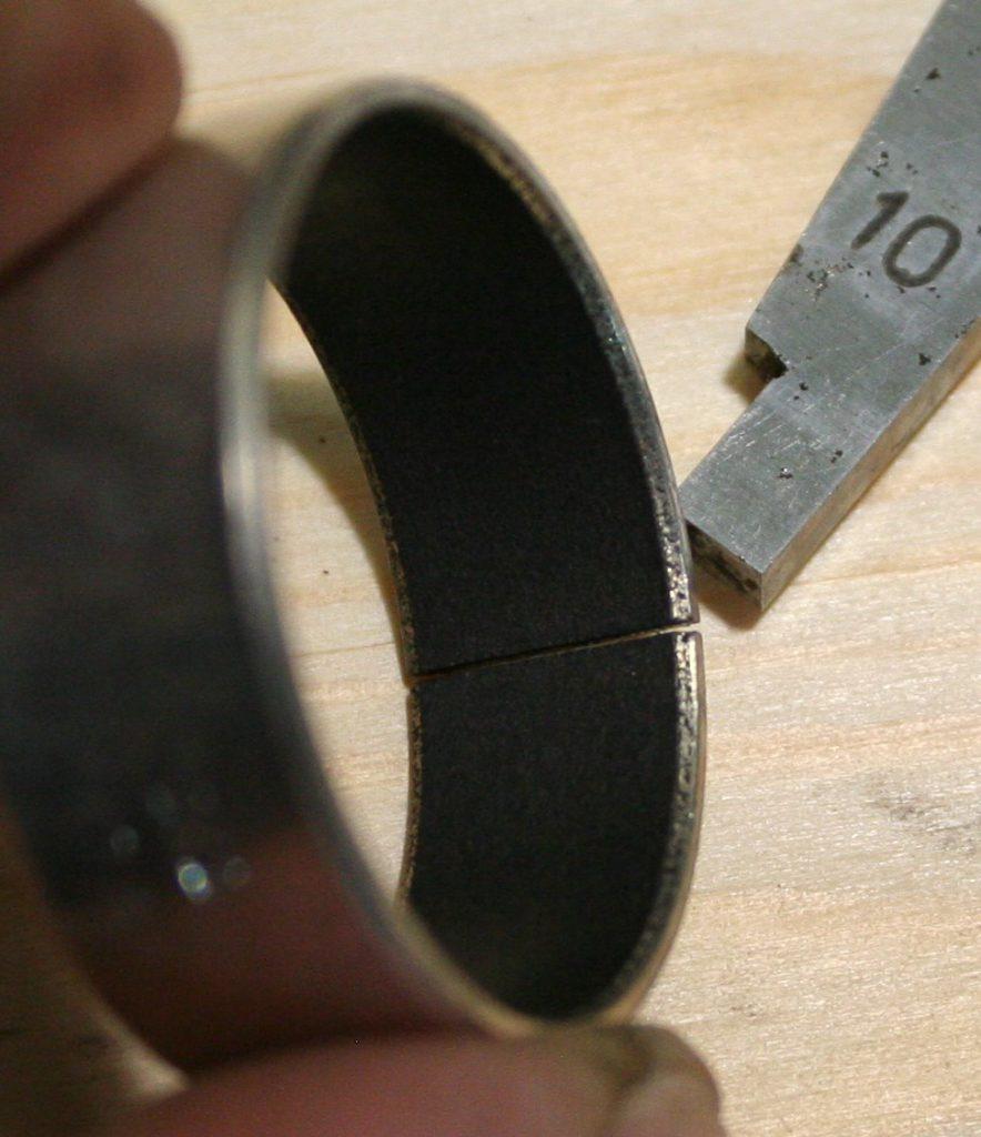 DS181070  Направляющая, вид внутренней поверхности