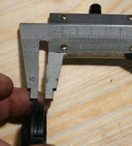 DJ181089 Пыльник, высота посадочного места 5 мм