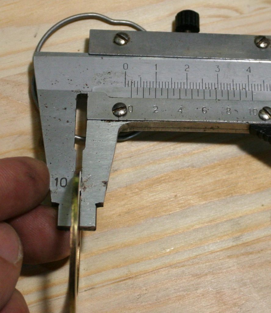 DS181072  Шайба направляющей, толщина 2 мм