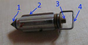 Игла поплавкового клапана Bajaj Boxer 150