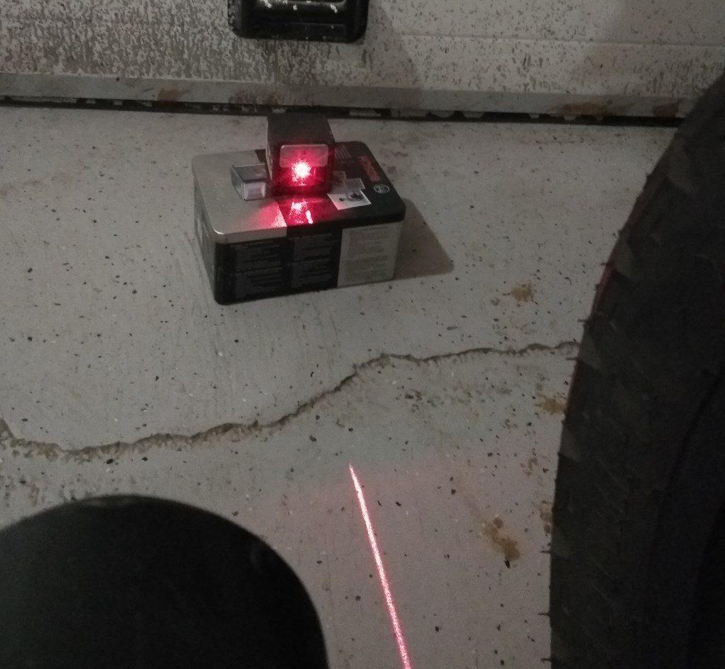 Для работы подойдет любой лазерный уровень
