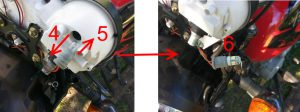 Bajaj Boxer: замена ламп подсветки приборной панели