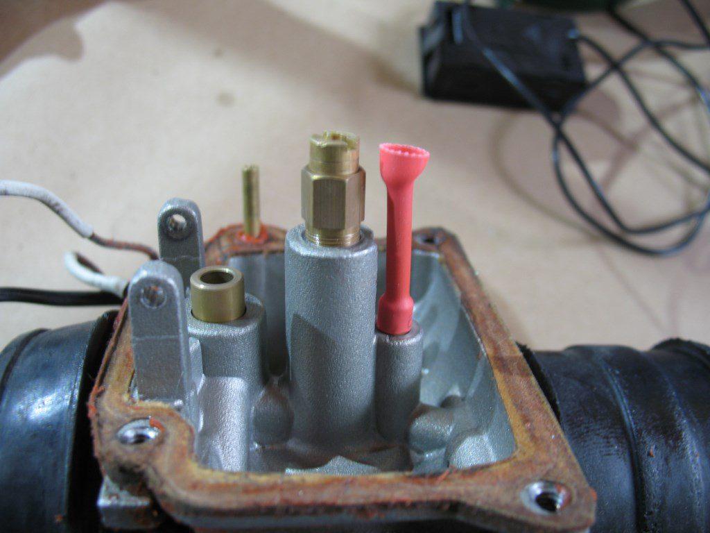 Удлиненный заборник топливного жиклера ХХ