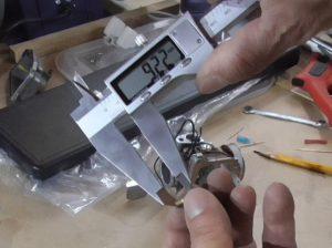 Длина топливного жиклера ГДС 9,22 мм