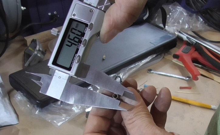 Диаметр посадочного отверстия сопла 4,60 мм