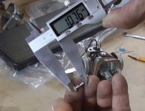 Длина сопла 10,76 мм