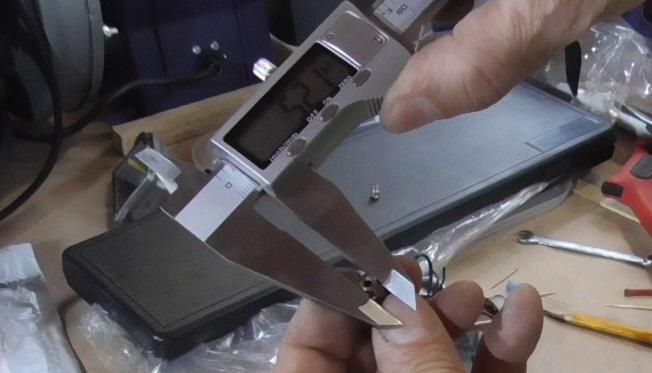 Диаметр сопла со стороны эмульсионной трубки 5,21 мм